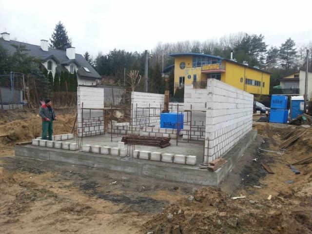 ściany konstrukcyjne domu jednorodzinnego