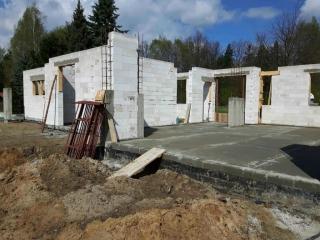 ściany konstrukcyjne budynku