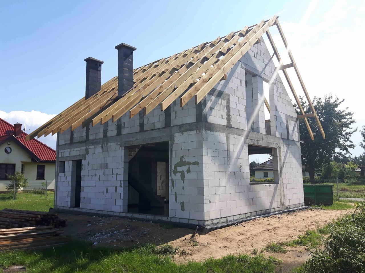 dom w stanie surowym