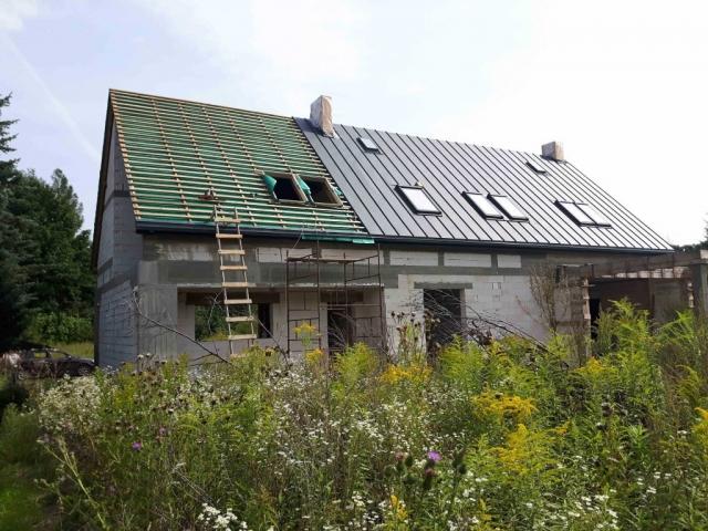 krycie dachu